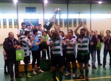 A equipa vencedora do Torneio Fut5