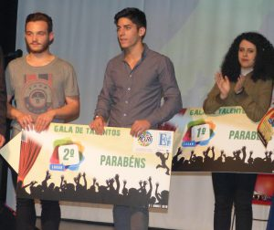 Segundo lugar: Nathan Cantarinhas e Santiago Oliveira