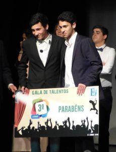 Terceiro lugar: Dupla de Mágicos Gonçalo Marques e Jorge Cardoso
