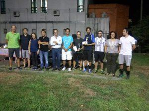 Alguns dos participantes e organizadores do Torneio