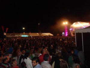 Milhares de pessoas assistiram ao concerto de Tony Carreira.